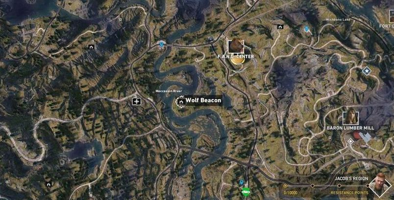 All Wolf Beacon Locations Call Of The Wild Side Mission Far