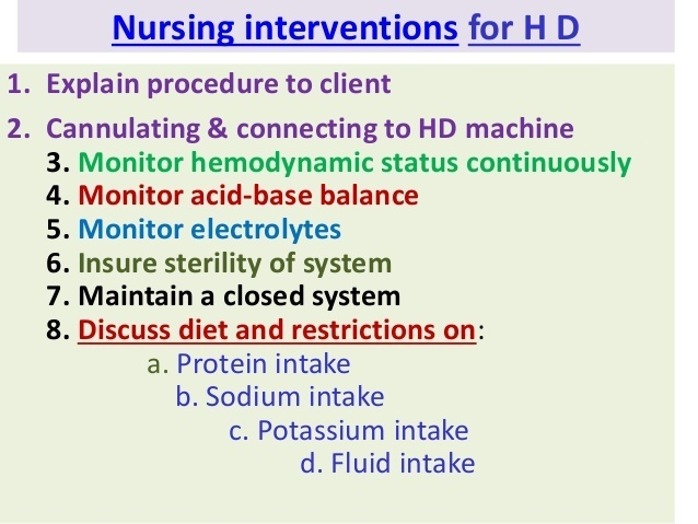 a nurse is caring for a client who is receiving peritoneal dialysis. the nurse should monitor-2