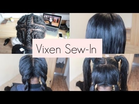 how to do a vixen sew in-2