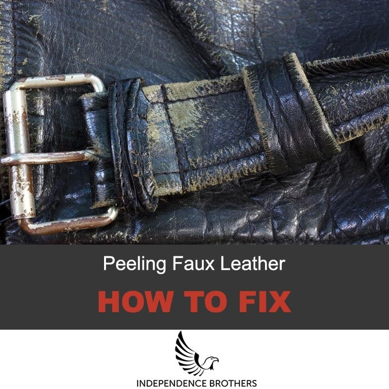 how to fix peeling faux leather jacket-0