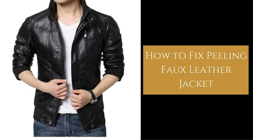 how to fix peeling faux leather jacket-1