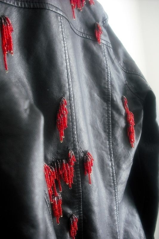 how to fix peeling faux leather jacket-2