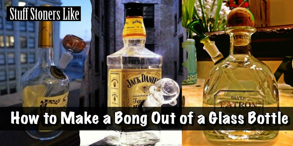 how to make a bong out of a glass bottle-2