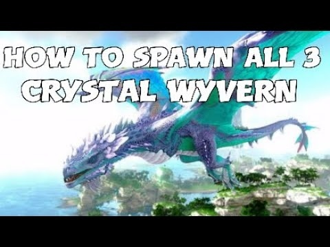 how to spawn a wyvern in ark-1