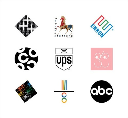 the american graphic designer who created some of the most memorable logos for ibm, ups, and abc is-0