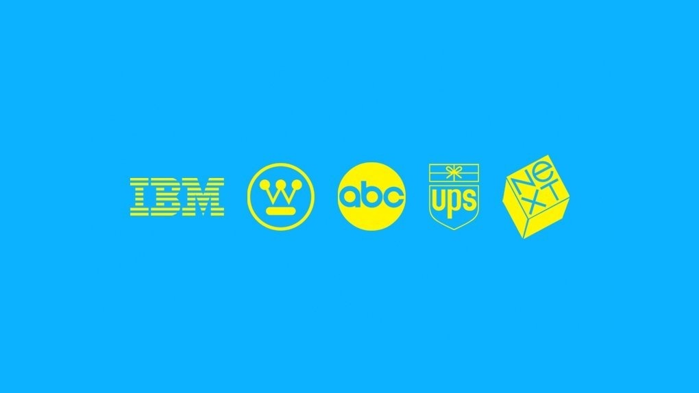 the american graphic designer who created some of the most memorable logos for ibm, ups, and abc is-1