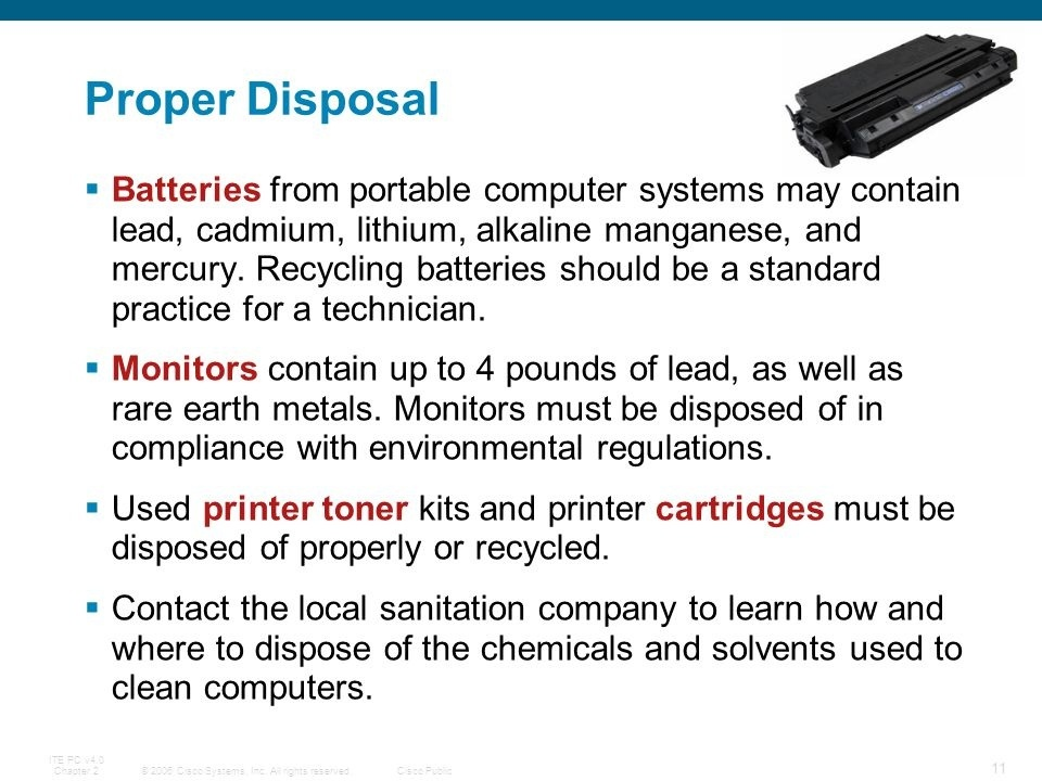 what makes crt monitor disposal dangerous for a technician who is handling the disposal?-0
