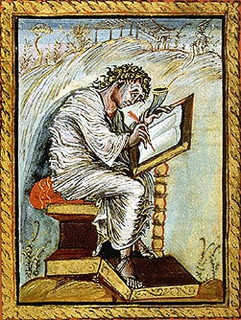 what unique style used in the ebbo gospels is associated with reims?-0
