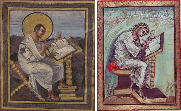 what unique style used in the ebbo gospels is associated with reims?-2