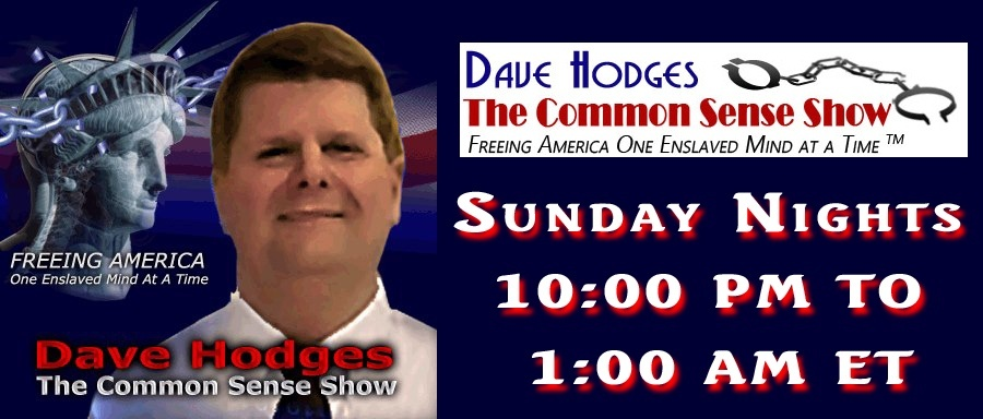 who is dave hodges of the common sense show-0