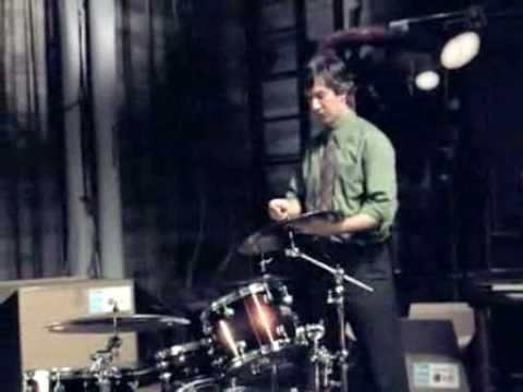 who is the drummer in the lg commercial-1