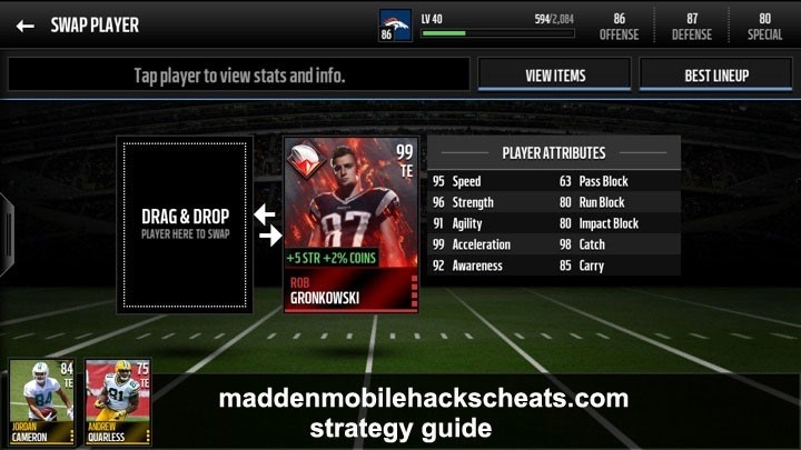 who is the fastest player in madden mobile-1