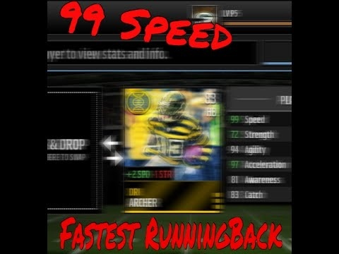 who is the fastest player in madden mobile-3