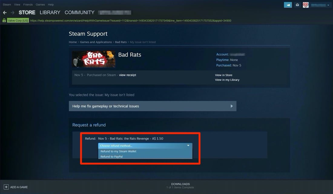 how to request a refund steam-0