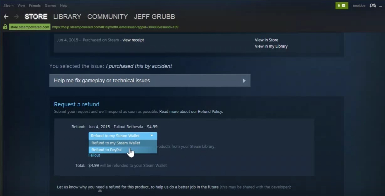 how to request a refund steam-6