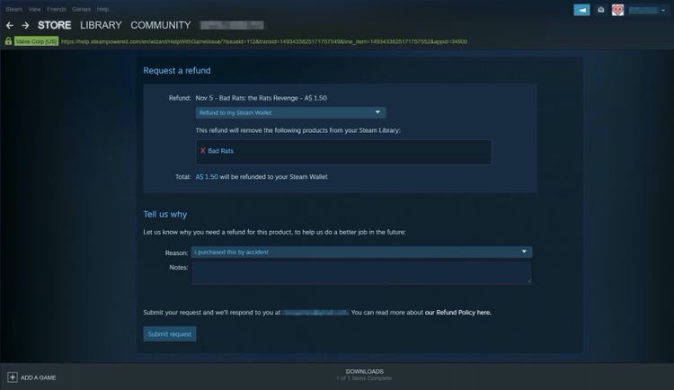 how to request a refund steam-7