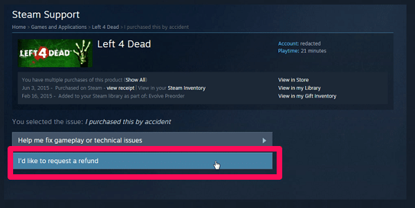 how to request a refund steam-9