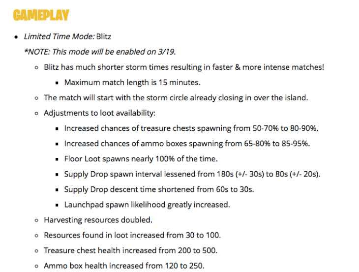 fortnite latest patch notes-8