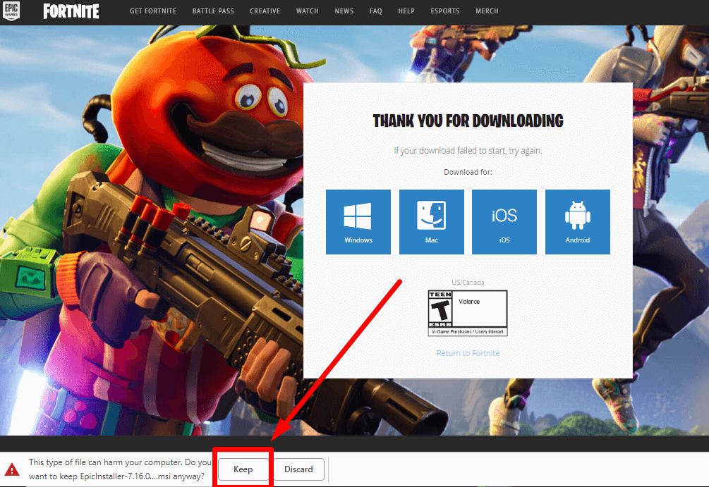 how to get fortnite on pc-1